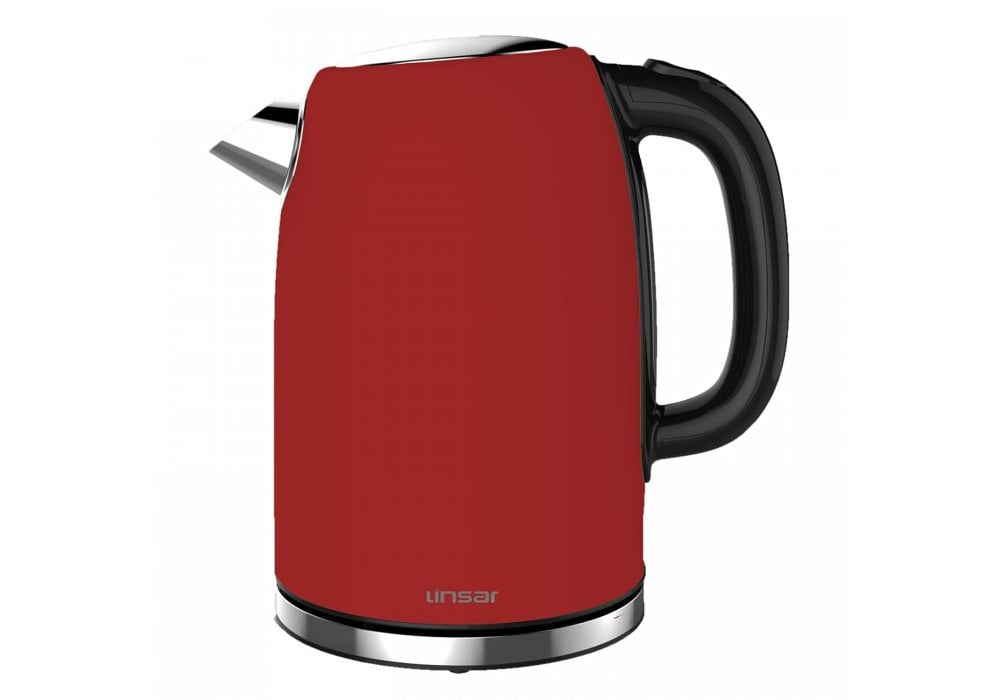 Linsar Electric Jug Kettle Red Small Appliances From Purewell Electrical Uk